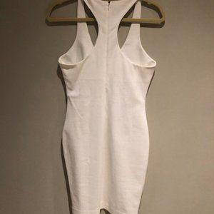 DSquared2 White Racer-Back Dress